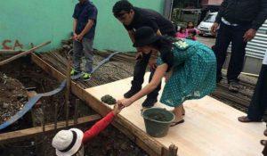jessica iskandar ikut membangun rumah